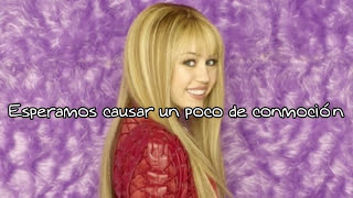 Miley Cyrus - Beach Weekend // Hannah Montana [Letra Traducida]