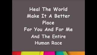 Lirik Lagu Michael Jackson - Heal The World