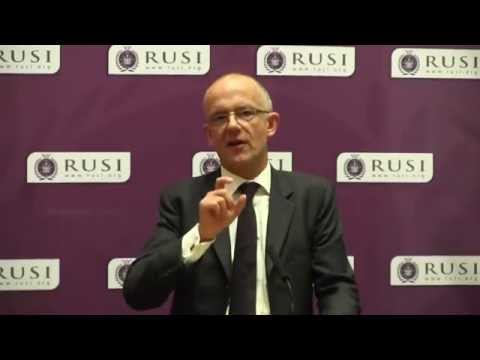 ACC Mark Rowley speaking at RUSI
