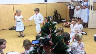 Borověnka DDM Boskovice - nejmenší 16.12.2013