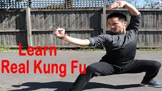 Shaolin Kung Fu Wushu Basic Form Training For Beginners
