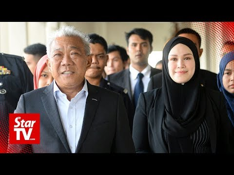 Bung and wife claim trial to Felcra corruption charges