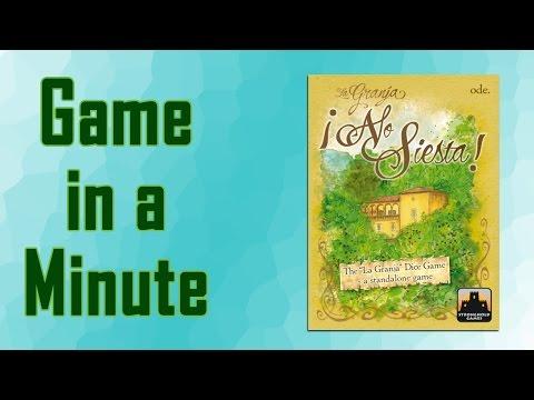 Game In A Minute Ep 43: La Granja: No Siesta