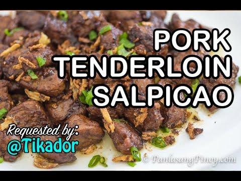Pork Tenderloin Salpicao