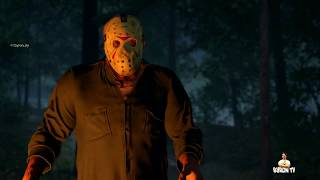 Friday the 13th The Game PS4 LIVE