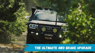 Toyota Landcruiser best brake upgrade