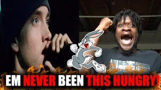 Eminem Was Hungry! | Eminem - Run Rabbit Run + Lyrics (REACTION!) REVISITED