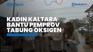 Kadin Kalimantan Utara Beri Bantuan Pemprov 150 Pasokan Tabung Oksigen di Tengah Pandemi Covid-19