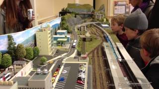 preview picture of video 'Yamanouchi Oshika - N Scale Layout'