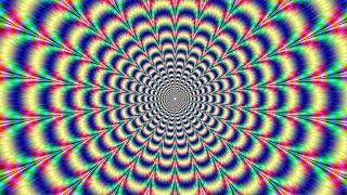 Video kaarten met optische Illusies, optical illusions hypnose