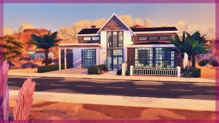 DREAM HOUSE ||💛 Modern Mansion 💛|| The Sims 4 Speed Build