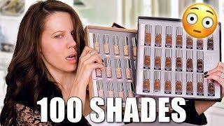 100 SHADES of Foundation ...