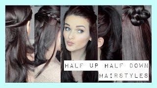Quick & Easy Half Up Half Down Hairstyles | ohhitsonlyalice