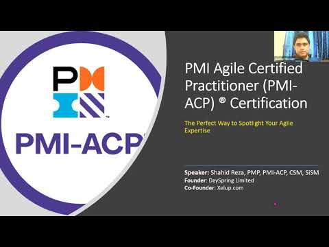 PMI ACP (Agile Certified Practitioner) Certification Overview ...