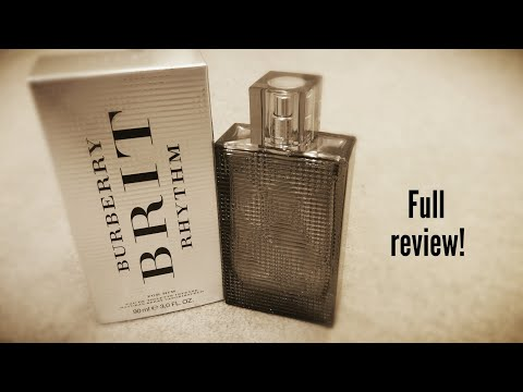 BURBERRY BRIT RHYTHM INTENSE POUR HOMME EDT 90 ML