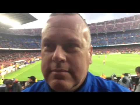 "VIDEO | John Halsema (Asv Dronten) in stadion FC Barcelona: ,,Prima trainingskamp"""