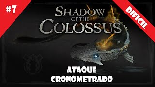 Coloso #7 (DIFICIL) - Ataque Cronometrado - Shadow of the Colossus (HD)