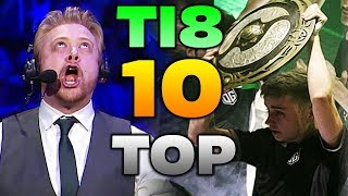TOP 10 MOMENTS - The International 2018 Dota 2