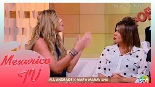 BOMBA: Lívia Andrade Discute Com Mara Maravilha Ao Vivo No SBT