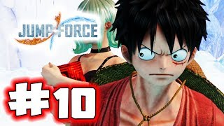 JUMP FORCE Gameplay Walkthrough Part 10 - Rescue Mission (Let's Play)