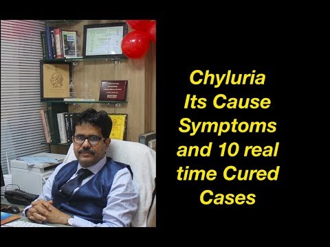Chyluria Cause Symptoms and 10 Real time cued Cases