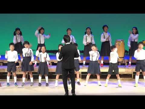 あしたふく風 ハバネラッコ・ハバネラ 下西小学校4年第41回西之表市小・中学校合同音楽祭での合唱・合唱奏