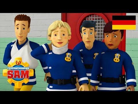 LIVE   Feuerwehrmann Sam Deutsch Neue Folgen   Arbeitsunfälle - 1 Stunde   Cartoons fur Kinder