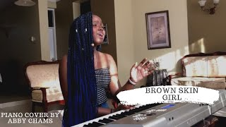 Beyoncé Ft. Wizkid, Blue Ivy   Brown Skin Girl (Piano Cover) By Abby Chams