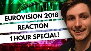 An Australian Reacts to Eurovision 2018 | All Songs (1 Hour Special) *reupload*