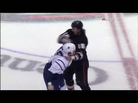 Colton Orr vs George Parros