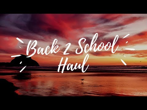 Back To School Haul   toddler edition