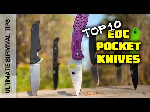 10 Epic Pocket Knives (Under 3oz) You Need to See – Which is BEST for EDC Everyday Carry? Review