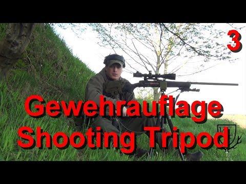 Dreibein/Stativ mit Gewehrauflage - Shooting Tripod - Waldfein DIY #02