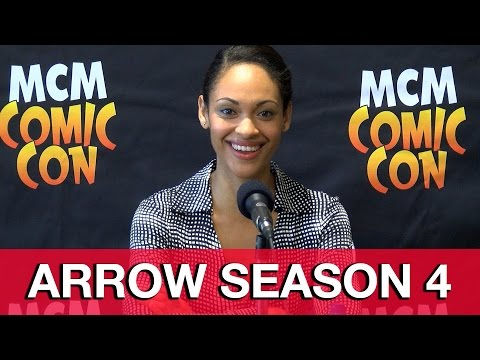 Arrow Season 4 & Suicide Squad Amanda Waller Interview - Cynthia Addai Robinson | MTW