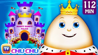 Humpty Dumpty Sat On A Wall and Many More Nursery Rhymes for Children | Kids Songs by ChuChu TV