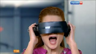 """ВИРТУАЛЬНАЯ РЕАЛЬНОСТЬ! Телеканал """"Россия 1"""" в Virtuality Club"""