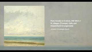 Flute Sonata in D minor, HW VIII/3.1