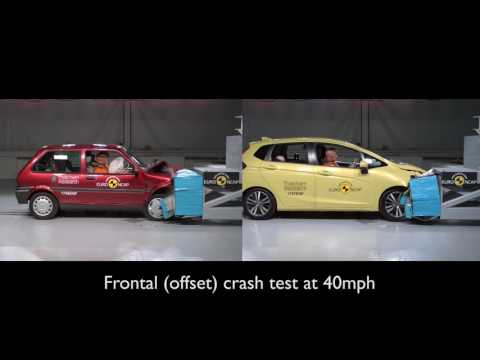 Here Is How Much Safer Small Cars Have Become Over 20 Years