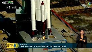 Primeiro satélite brasileiro de observação foi lançado ao espaço na madrugada de domingo (28)