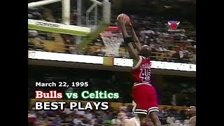 March 22, 1995 Bulls vs Celtics highlights