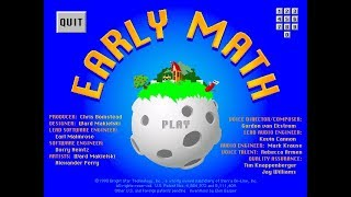 Early Math Game Play (part 1/2)
