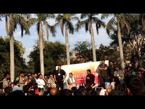 Zakir Khan- comedian at jashn-e-rekhta 2017 beautiful poetry and comedy Part-1