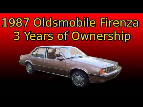 Vehicle Update 1987 Oldsmobile Firenza 3 Years of Ownership