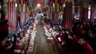preview picture of video 'Buddha Purnima; Tawang Monastery; May 2008 (Tridib R. Sarma)'
