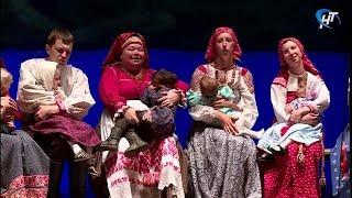 В новгородской филармонии прошел большой концерт фольклорного театра «Круговина»