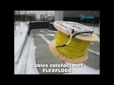 CABLES CALEFACTORES RAMPA DE ACCESO PARA PROTECCIÓN CONTRA HIELO Y NIEVE