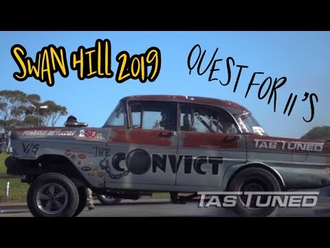 Supercharged Ford crossflow Gasser Drag car teardown