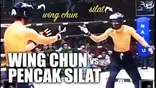 Wing Chun vs Pencak Silat MMA Fight