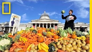 Thumbnail for Food-Waste Rebel Wants You to Eat Ugly Food   National Geographic