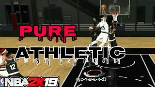 NBA 2K19 PURE ATHLETIC FINISHER! JORDAN REC CENTER POSTERIZER MIXTAPE!!!